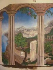 Художественная роспись стен Гомель