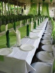 Оформление залов и свадебных автомобилей