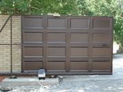 Ворота откатные (консольные),  ворота распашные,  калитки, заборы.