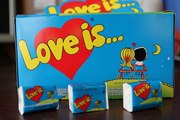 Жвачка LOVE IS ,  Блоками и поштучно,  разные вкусы,  делаем асорти микс