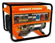 Бензогенератор / мини электростанция NIKKEY PG5500 (12V-220V-380V Элек