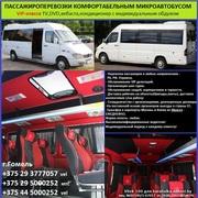 Перевозка пассажиров 15 мест VIP (заказ микроавтобуса)