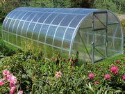 Теплица под поликарбонат ECO 8x3x2 (Комплект: каркас+ ПОЛИКАРБОНАТ)