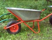 Тачка строительная Skiper Expert 120+ (1 колесо,  250 кг.,  120 л.)