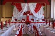 Декорирование свадебного зала,  оформление зала для торжеств
