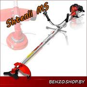 Shtenli MS 4500 бензокоса (триммер,  кусторез,  мотокоса) мощн 4, 5 кВт