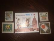 Почтовые марки 1958-1993гг