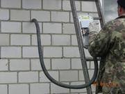 Утепление (запенивание) жидким пенопластом БИПОР-тм стен домов, дач