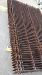 Забор оцинкованный с полимерным покрытием под ключ.