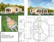 Строительство купольных конструкций,  домов,  складо