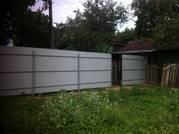 Забор из металлопрофиля 2, 0 метра