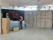 готовый оборудованный магазин одежды в ТЦ