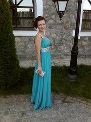 Элегантное вечернее платье в пол в отличном состоянии в Гомеле.