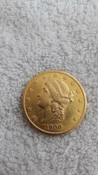 20 долларов США 1900