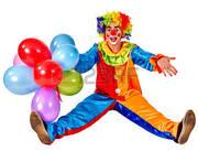 видеосъёмка, праздник для детей с клоуном