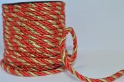 Шнур (1, 9-5мм) (отделочный,  декоративный,  двухцветный) в ассортименте