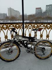 Велосипед горный MOBY 21 скорость,  диск торм.оборуд шимано.