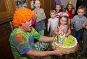 детские праздники с весёлым клоуном Бубликом