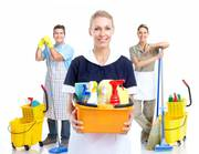 Производим уборку помещений