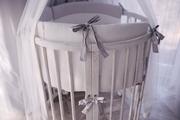Детская кроватка-трансформер 8 в 1 из массива дуба