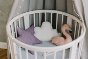 Кроватка для детей 8 в 1 из массива дуба