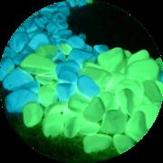 Светящиеся  натуральные камни Acmelight Naturе Stones